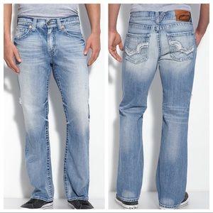 Big Star Pioneer Watson Distressed Boot Jeans